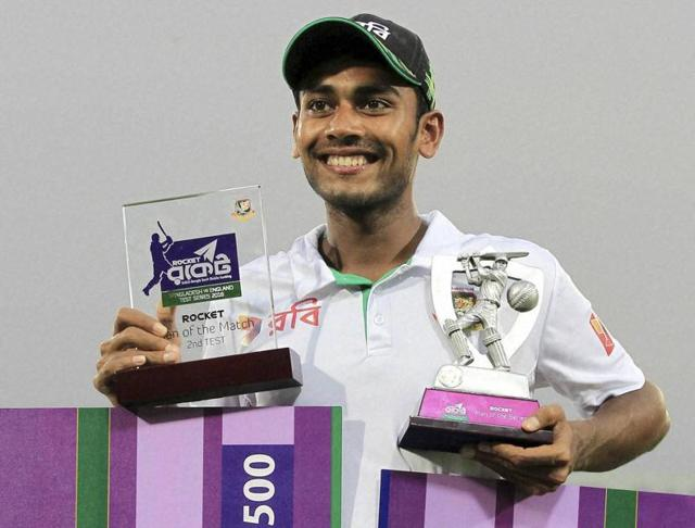 Mehedi Hasan Miraz took 12  wickets in the Mirpur Test to script Bangladesh's  memorable victory over England.