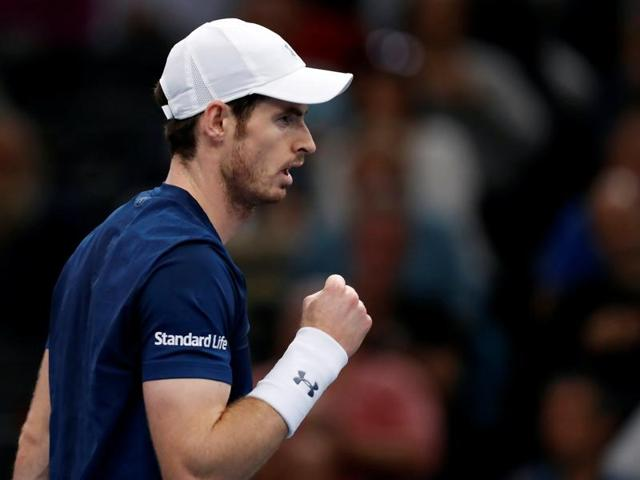 Murray extended his winning streak to 17 matches.