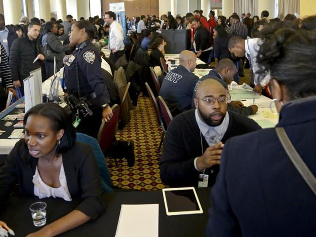 The US economy added a solid 161,000 jobs in October while the unemployment rate fell to 4.9%, according to labour department figures released on Friday.