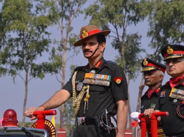 Gen Dalbir Singh Suhag  interacted with Veer Naris and army veterans.