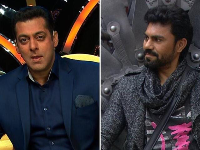 Gaurav Chopra is chosen as the villain by a majority of contestants and then grilled by Salman.