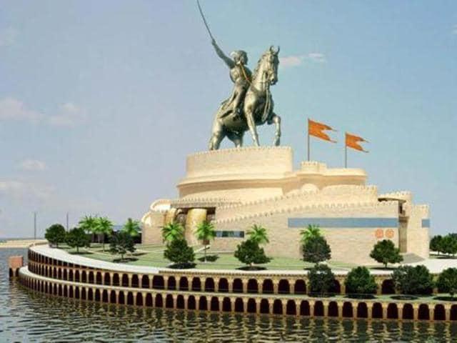 Shivaji Memorial,Arabian Sea,Devendra Fadnavis