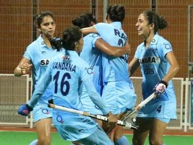 Indian women's hockey team,Asian Champions Trophy,India vs China
