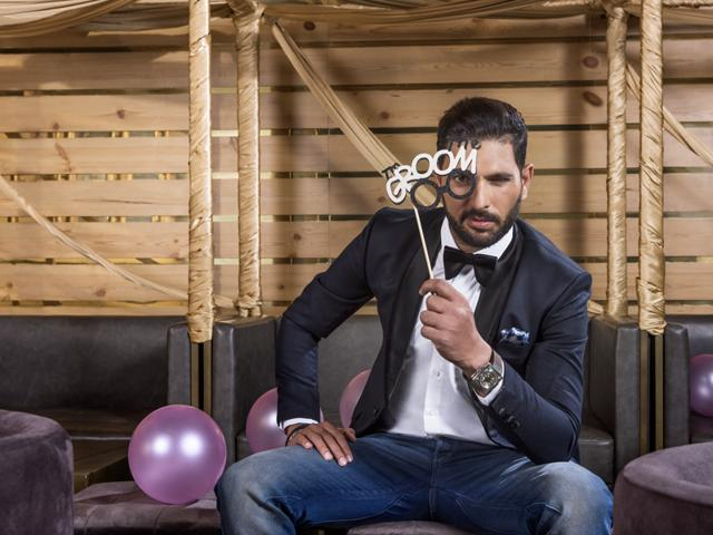 Groom-to-be Yuvraj Singh says that Hazel Keech shares his attitude towards life - they both love goofing around and believe in working hard