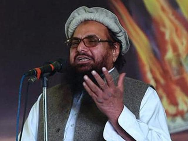 Mumbai attack mastermind Hafiz Saeed alleged that India is behind a political crisis in Pakistan to prevent Islamabad from raising the Kashmir issue.