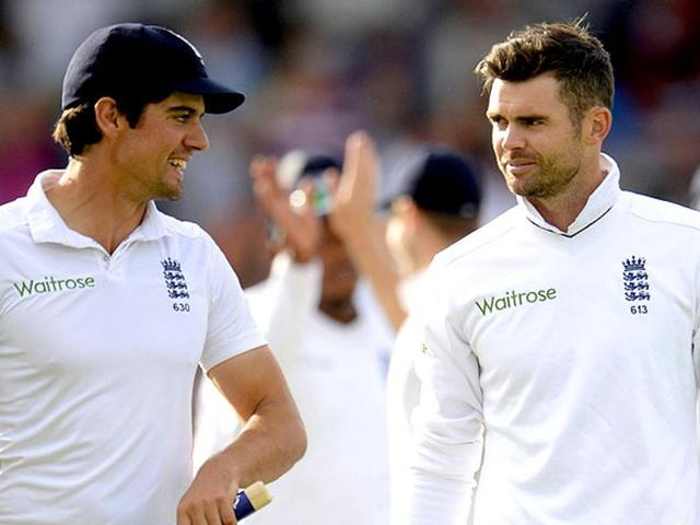 James Anderson,Alastair Cook,England