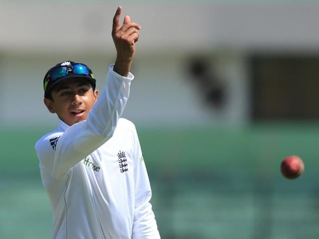 England cricketer Haseeb Hameed arrives for a practice session at Zahur Ahmed Chowdhury Stadium in Chittagong.
