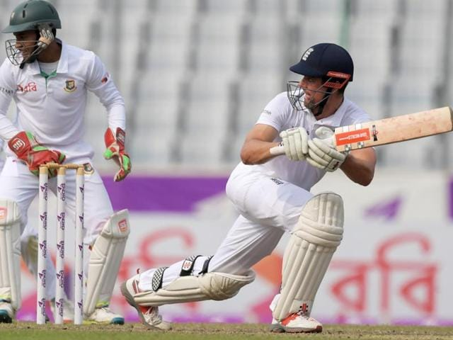 India vs England,Alastair Cook,David Young
