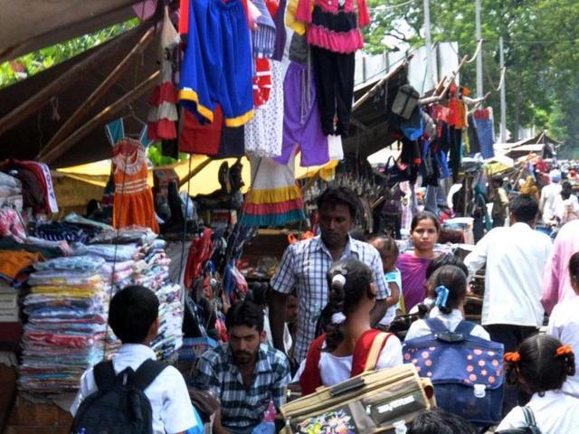 Patiala MC,street vendors,mall road
