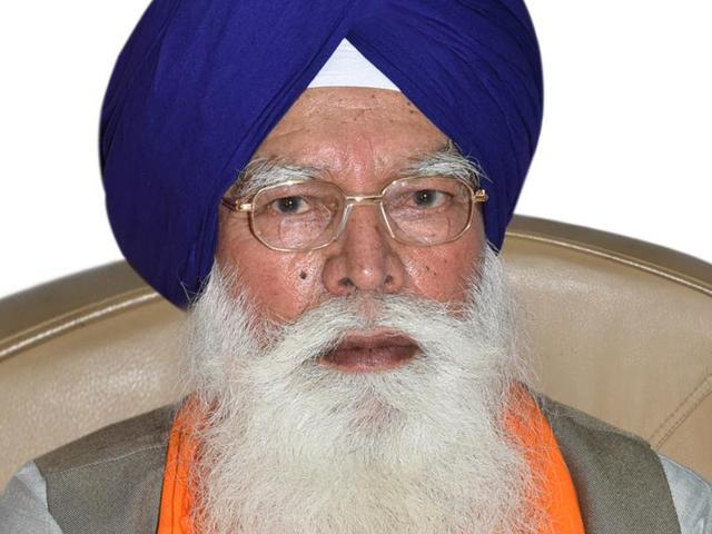 Kirpal Singh Badungar, who was chosen SGPC chief on Saturday.