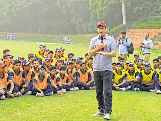As many as 200 cricketers from different districts of Haryana, including Rohtak, Ambala and Hissar showed off their skills at the event.