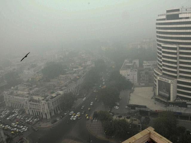 Delhi,smog,air pollution