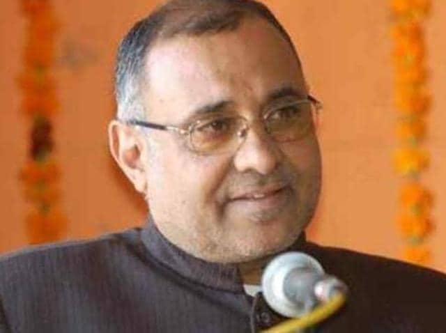 Bharatiya Janata Party (BJP) vice-president Avinash Rai Khanna