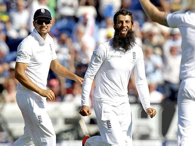 Moeen Ali took two five-wicket hauls against India in the 2014 series which England won 3-1.