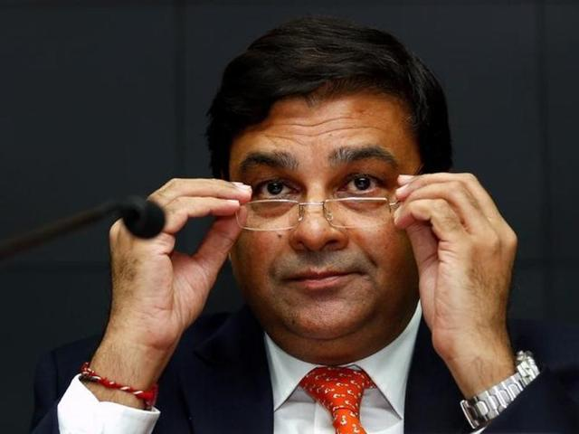 RBI governor Urjit Patel and finance minister Arun Jaitley during a conference in Mumbai.