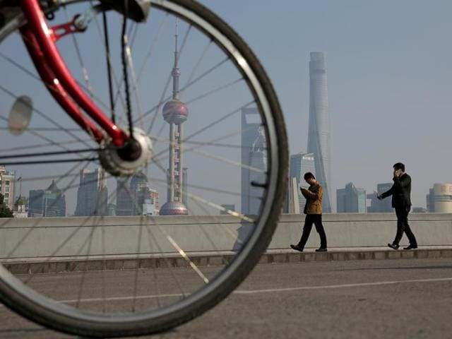 Heavy smog has engulfed several cities, including Shanghai, in China.