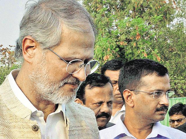 Arvind Kejriwal and Najeeb Jung are not in the best of terms.