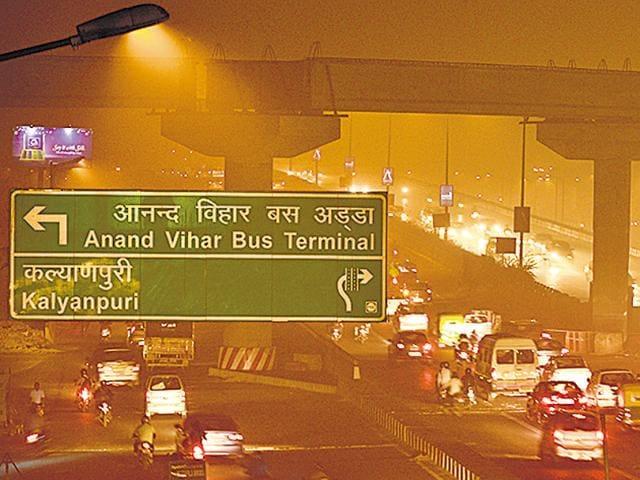 Delhi pollution,delhi air quality,smog