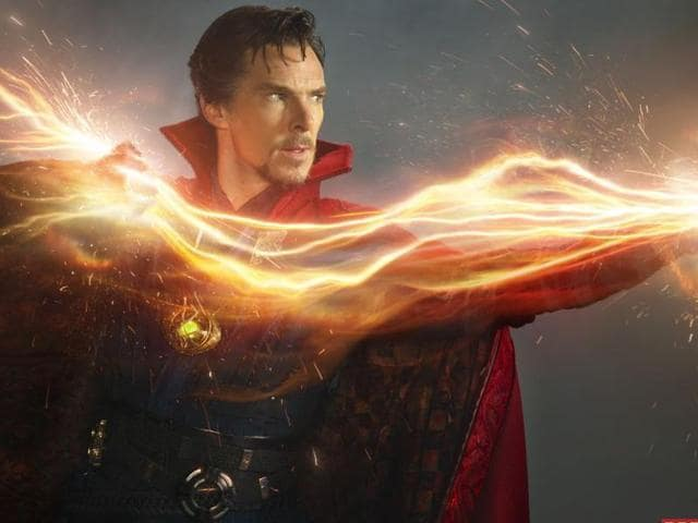 Doctor Strange, which released in India on November 4, tells the story of neurosurgeon Stephen Strange, played by Benedict Cumberbatch.(Marvel)