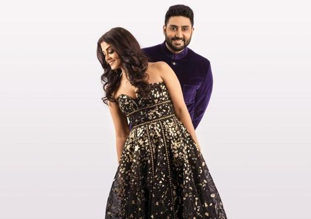 Abhishek Bachchan gives credit to his wife Aishwarya and daughter Aradhya for his fashionable choice of clothes.