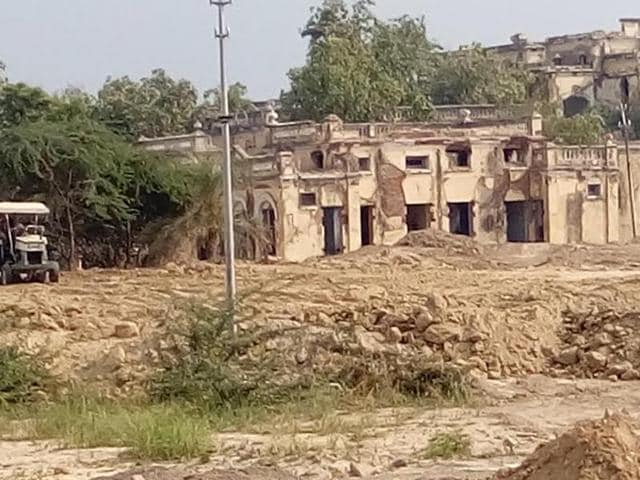 Much of the imposing Indo-Gothic building of Jind Hermitage Palace comprising 100 rooms, built in Ghabdan village, 10km from Sangrur, has been bulldozed to make room for the proposed satellite centre of Postgraduate Institute of Medical Education and Research  (PGIMER).