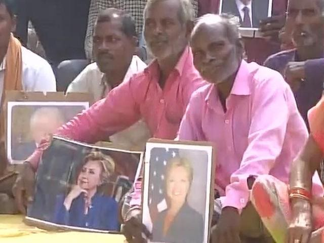 Hillary Clinton,UP village,Clinton Foundation