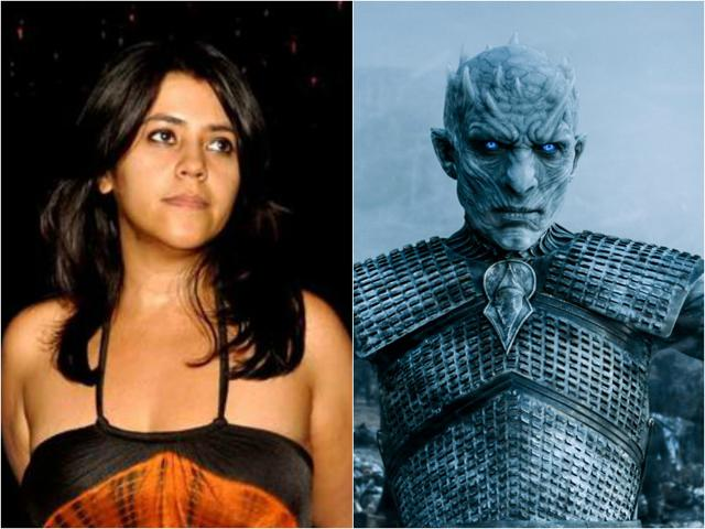 Ekta Kapoor asks why Game of Thrones is not considered regressive but Indian TV content is.