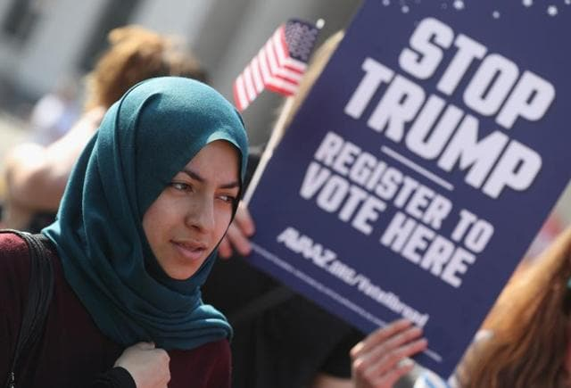 Republican presidential candidate Donald Trump's presidential campaign has been rife with inflammatory rhetoric against Muslims.
