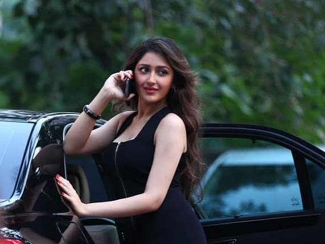 Actor Sayyeshaa Saigal says her debut film Shivaay was a great experience for her.