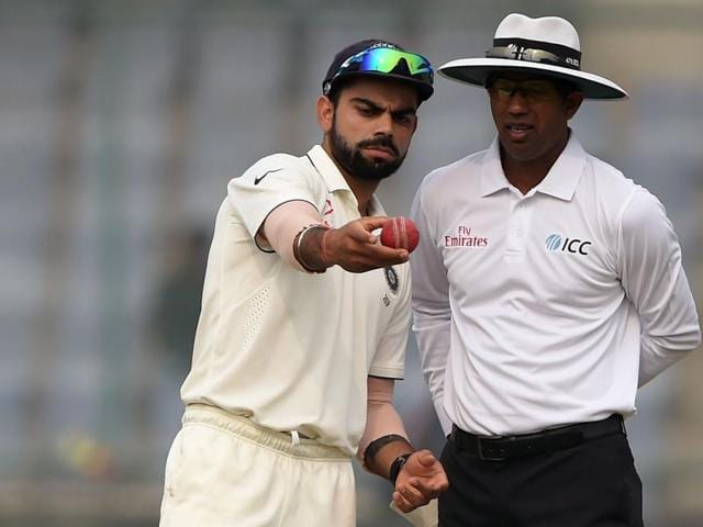 In most departments India have the edge over England and are rightly termed favourites, but when it comes to the use of technology in the decision-making process, Virat Kohli and Co are novices compared to Alastair Cook's men.(AFP)
