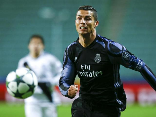 Cristiano Ronaldo,La Liga,Real Madrid
