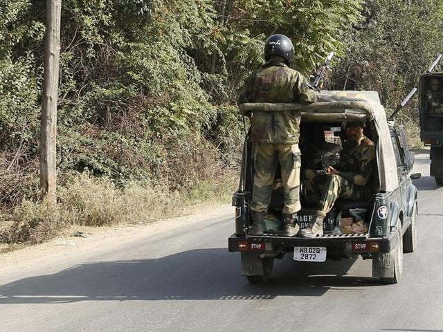 A militant was killed in an encounter with security forces in Jammu and Kashmir's Shopian.