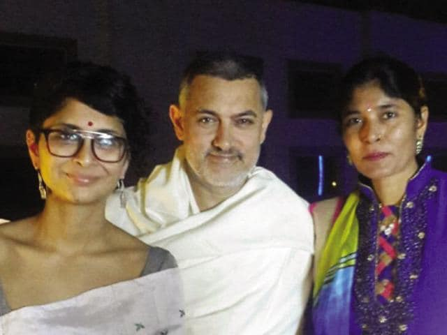 """Aamir Khan had asked Kangana about the person who taught her Haryanvi. That's how I came on board. He especially told me that he would take classes with me. It was a dream come true to accompany sir,"" says Sunita Sharma."