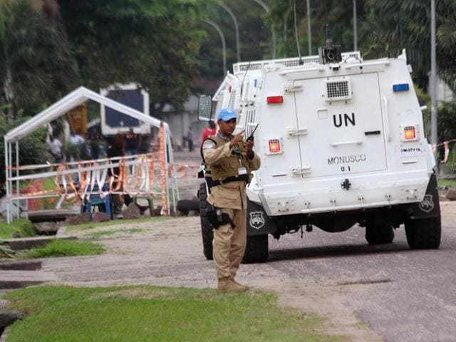 32 Indian peacekeepers were injured in an explosion in the eastern Democratic Republic of Congo city of Goma.