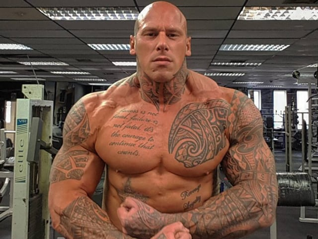Martyn Ford is an actor and bodybuilder.