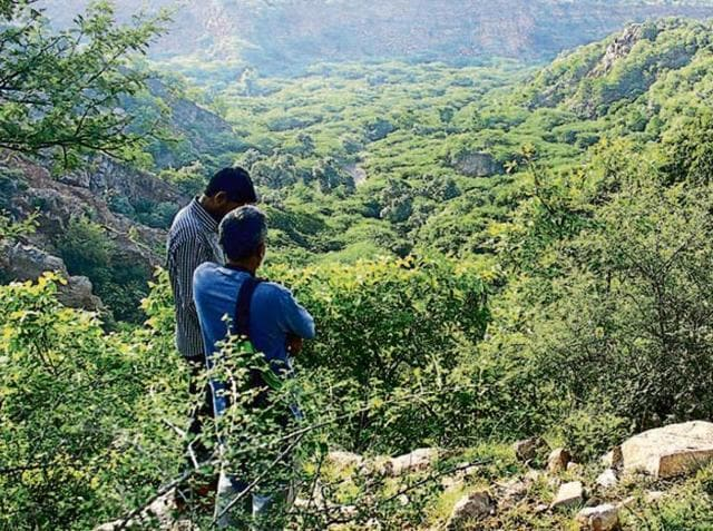 Aravalli forest area,NCR Planning Board,NCRPB