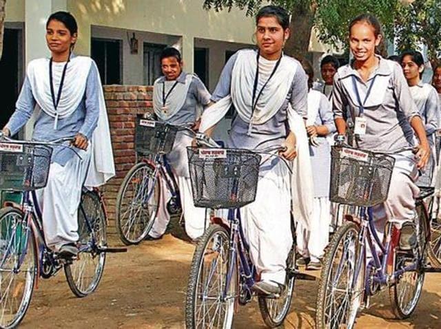 bicycles,Mai Bhago Vidya Scheme,BPL family