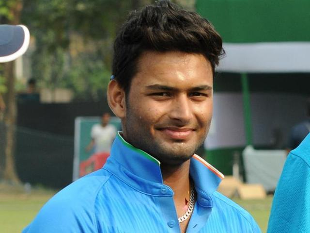 Rishabh Pant followed up his triple century couple of games ago  with the fastest century in the Ranji Trophy.