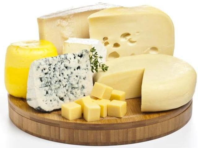 Antioxidant properties of dairy proteins in cheese help lower blood pressure.