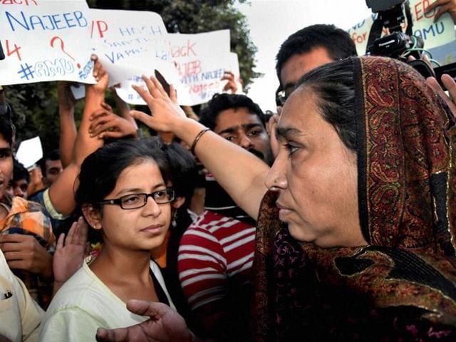 missing JNU student,Najeeb Ahmed,Delhi Police