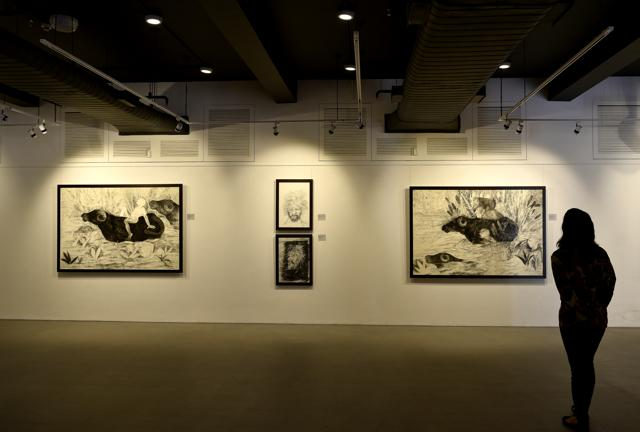 The new Saffronart gallery at The Claridges hotel, in Delhi