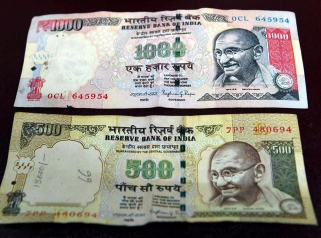 Rs 500 and Rs 1000 notes will be discontinued from Tuesday midnight as a step to curb black money.