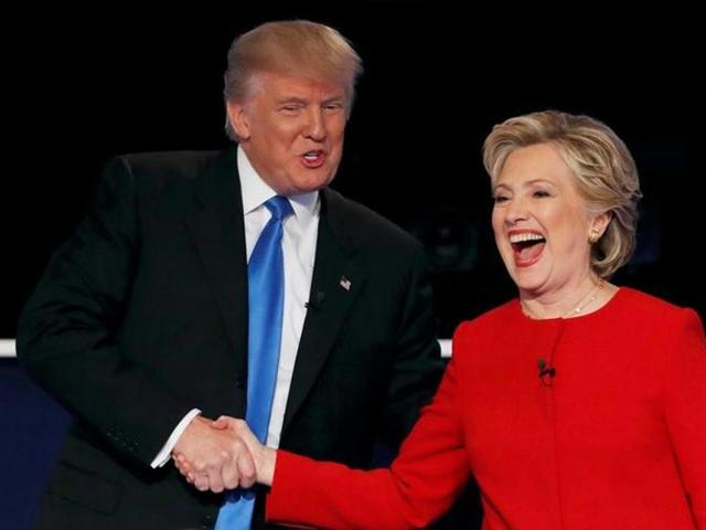 US elections 2016,Hillary Clinton,Donald Trump
