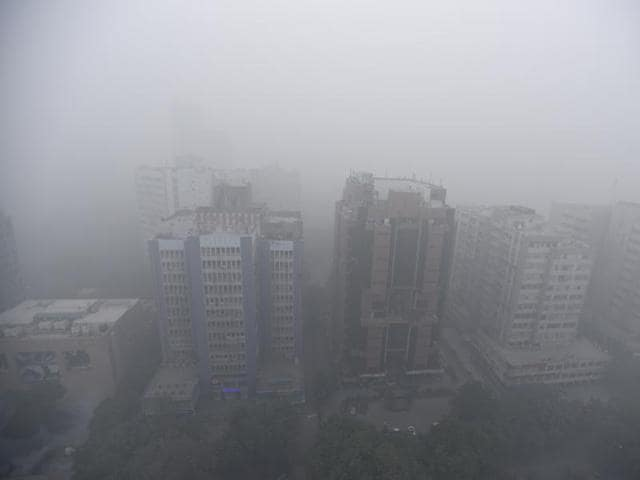 Delhi-NCR covered under a thick blanket of smog this weekend.