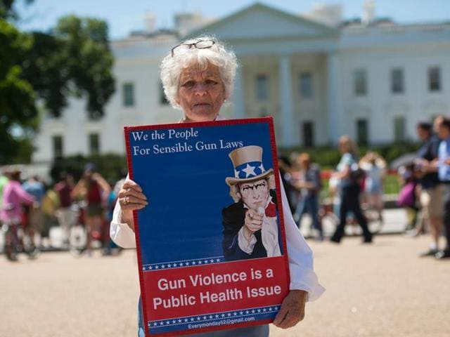 Gun control-related ballot measures in four states are expected to pass on Tuesday, opinion polls show, after gun safety advocates poured a massive amount of money.