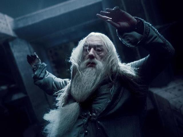 Raise your wands, Dumbledore lives!