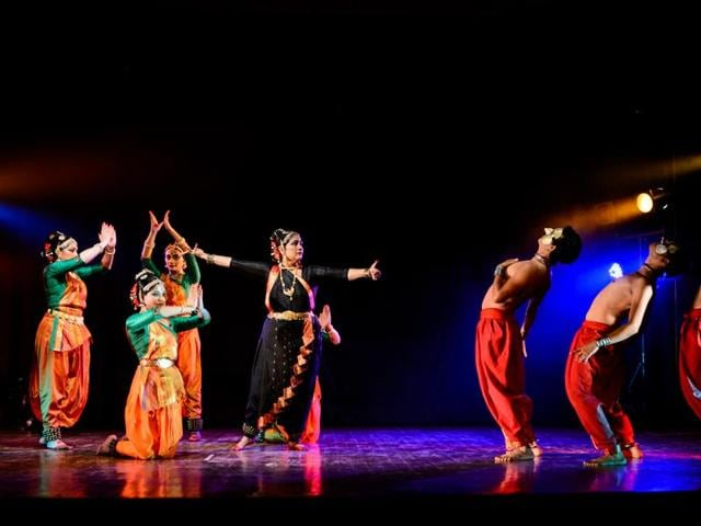 Indian artists perform at one of the previous editions of Delhi International Arts Festival.