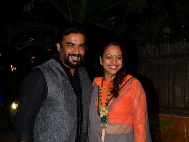 Bollywood actor R Madhavan recently attended the Tokyo International Film Festival with wife Sarita and son Vedant.