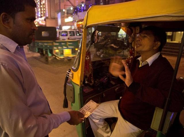 While auto rickshaws are usually used for shorter distances  with monetary value of only up to Rs 100, it is the city's cab service which is facing a challenge.