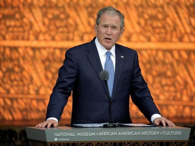 US elections,US presidential election,George W Bush